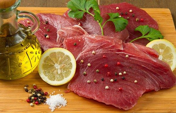 smoking tuna steaks