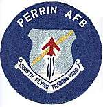 3555th Training Wing patch