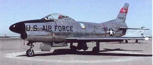 North American F86L Super Sabre