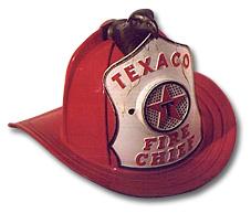 Texaco Fire Chief fire helmet